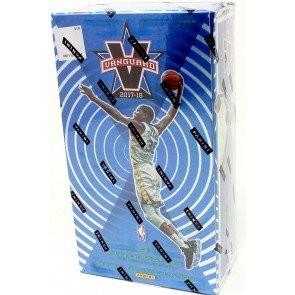 2017/18 Panini Vanguard Basketball Hobby 6 Box Case