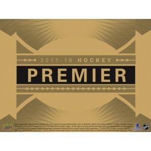 2017/18 Upper Deck Premier Hockey Hobby 5 Box Case