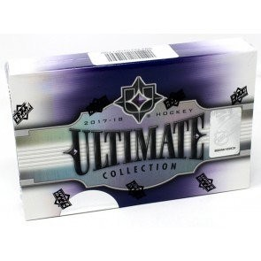 2017/18 Upper Deck Ultimate Collection Hockey Hobby 16 Box Case