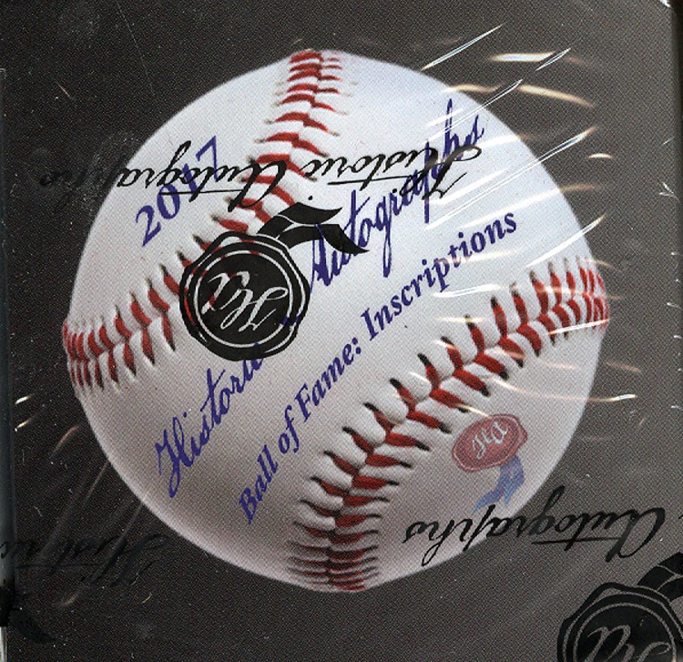 2017 HA Ball of Fame Inscriptions Baseball 12 Box Case