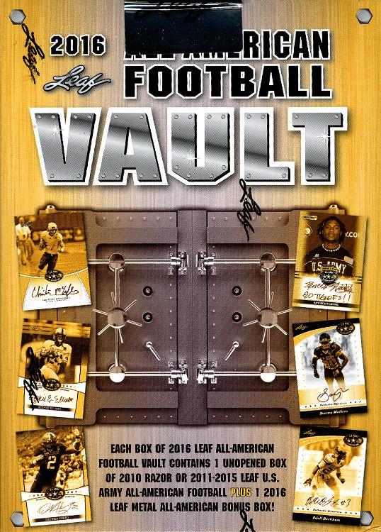 2016 Leaf All American Football - Vault Box