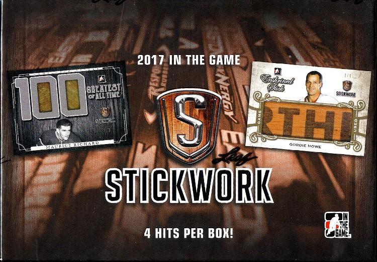 2017 Leaf In The Game ITG Stickwork Hockey Box