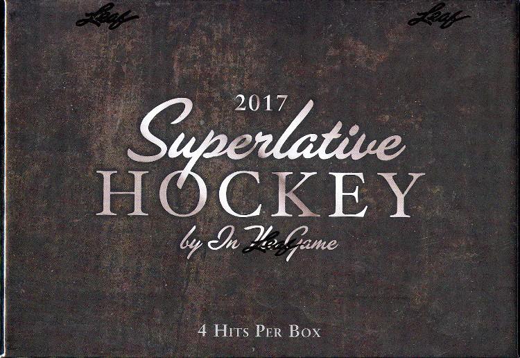 2017 Leaf ITG Superlative Hockey 12 Box Case