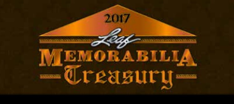 2017 Leaf Memorabilia Treasury Box