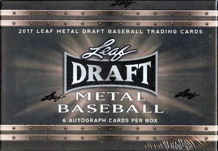 2017 Leaf Metal Draft Baseball Hobby Box