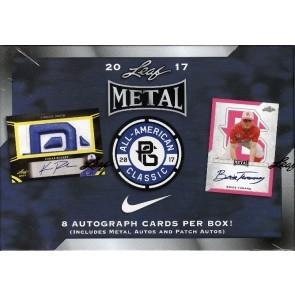 2017 Leaf Metal Perfect Game All-American Baseball 15 Box Case
