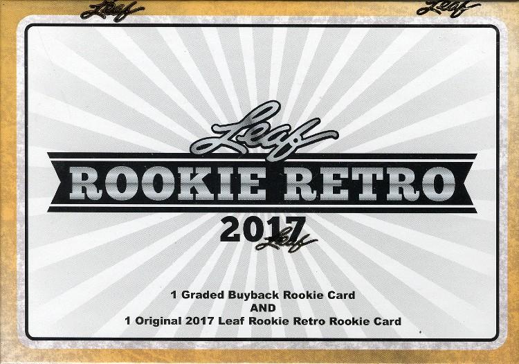 2017 Leaf Rookie Retro 4 Box Case