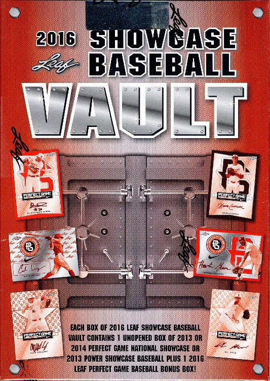 2016 Leaf Showcase Vault Baseball 12 Box Case