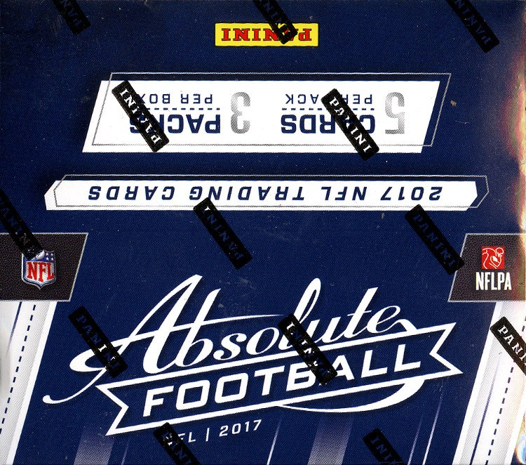 2017 Panini Absolute Football Hobby 10 Box Case