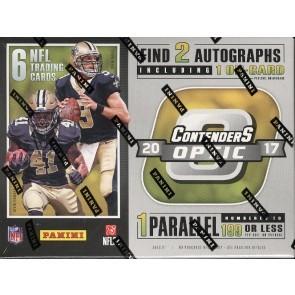 2017 Panini Contenders Optic Football Hobby 20 Box Case