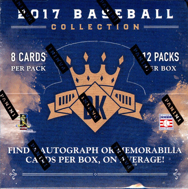 2017 Panini Donruss Diamond Kings Baseball Hobby 12 Box Case