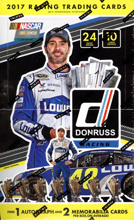 2017 Panini Donruss Racing 20 Box Case