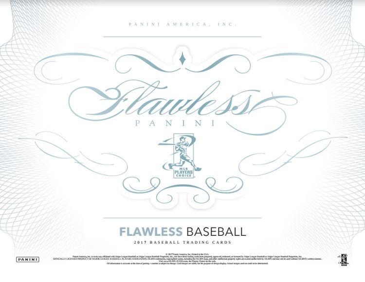 2017 Panini Flawless Baseball Hobby Box