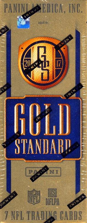 2017 Panini Gold Standard Football Hobby Box