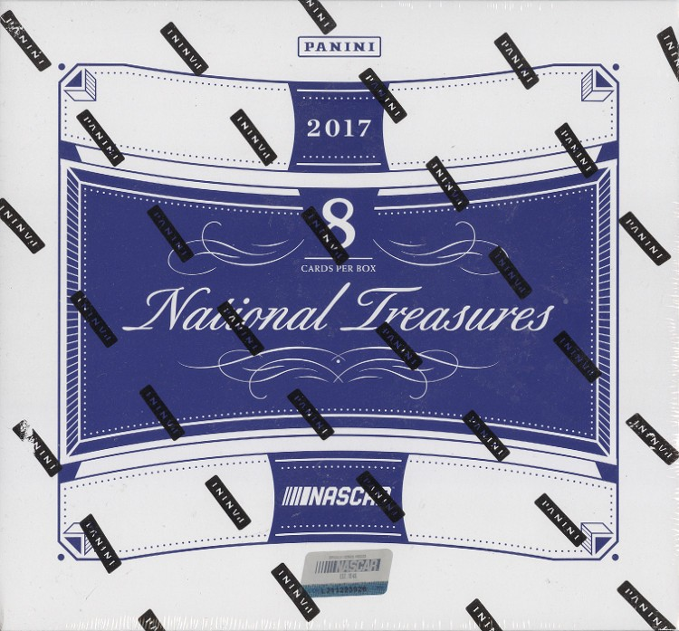 2017 Panini National Treasures Racing Hobby 4 Box Case