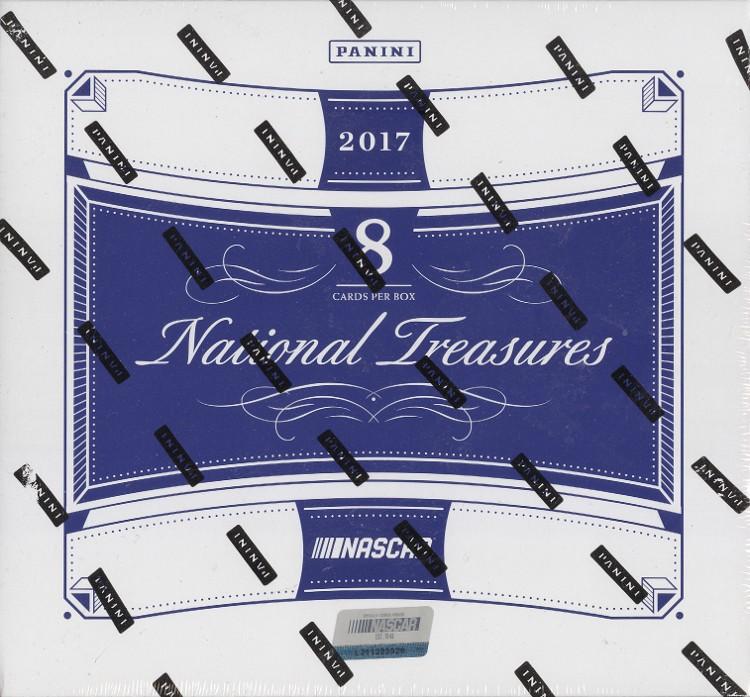 2017 Panini National Treasures Racing Hobby Box