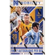 2017 Panini Nobility Soccer Hobby 8 Box Case