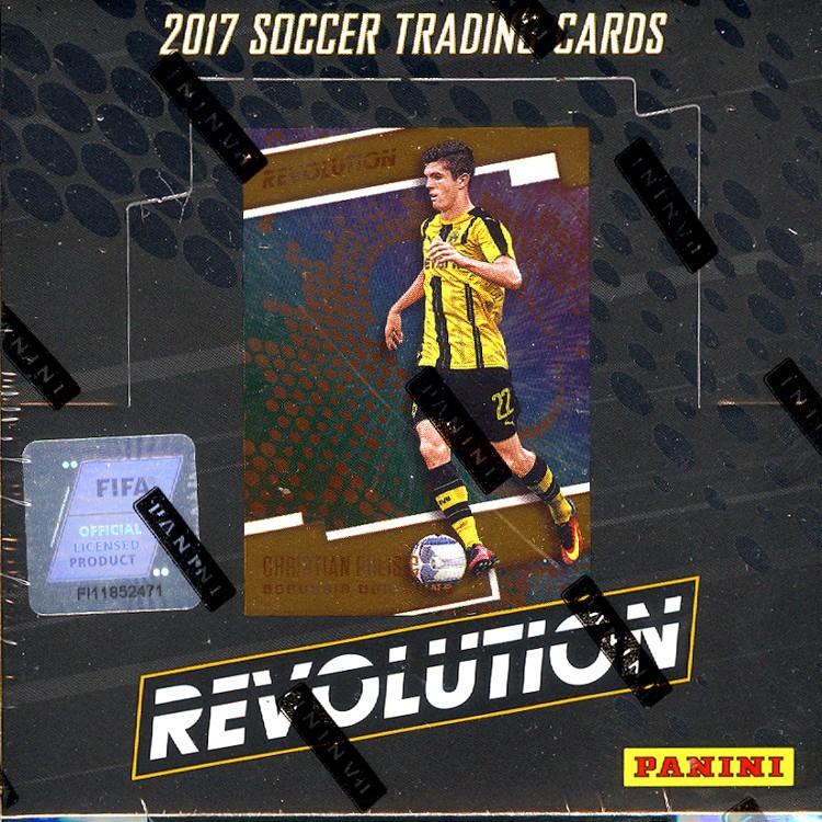 2016/17 Panini Revolution Soccer Hobby 16 Box Case