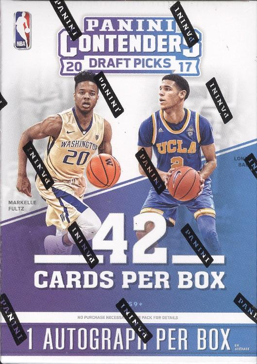 2017/18 Panini Contenders Draft Basketball Blaster 20 Box Case