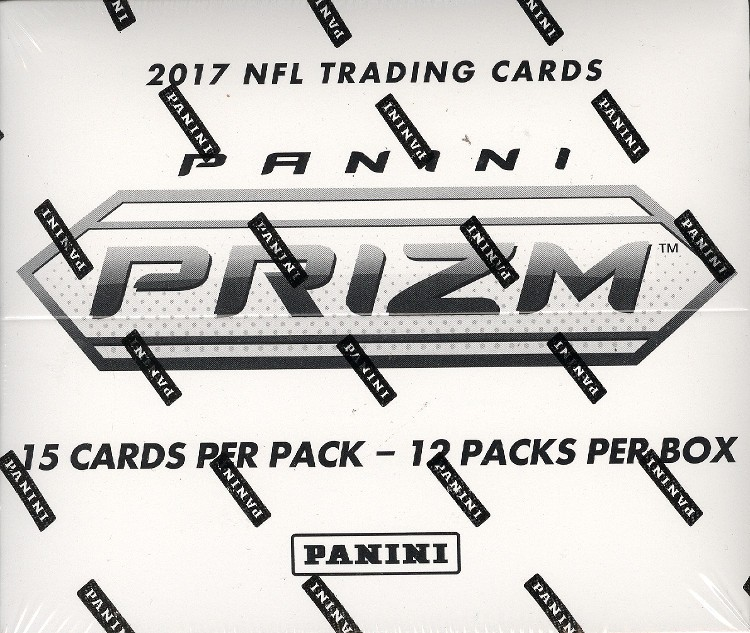 2017 Panini Prizm Football Fat Pack 20 Box Case