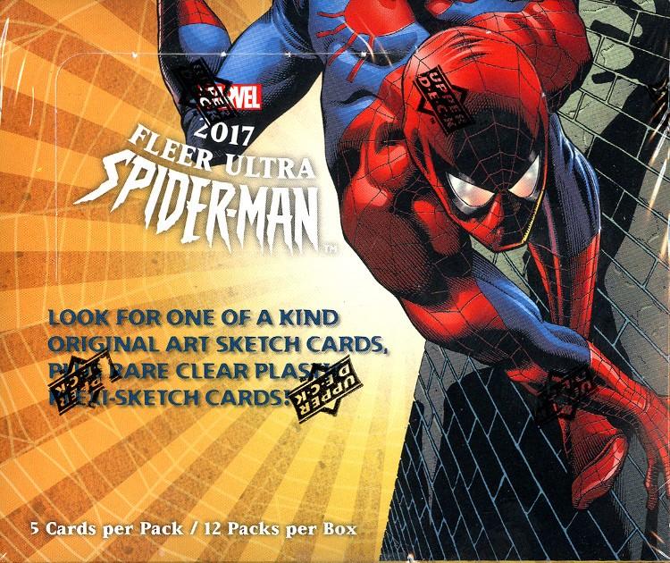 2017 Upper Deck Marvel Fleer Ultra Spider-Man Box