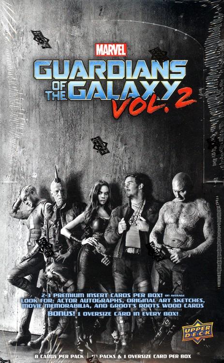 2017 Upper Deck Marvel Guardians Of The Galaxy Vol 2 - Box