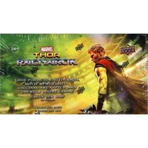 2017 Upper Deck Marvel Thor Ragnarok Trading Card 8 Box Case