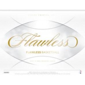 2018/19 Panini Flawless Basketball Hobby 2 Box Case