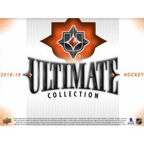 2018/19 Upper Deck Ultimate Collection Hockey Hobby 8 Box Case