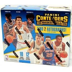 2018/19 Panini Contenders Basketball Hobby Box
