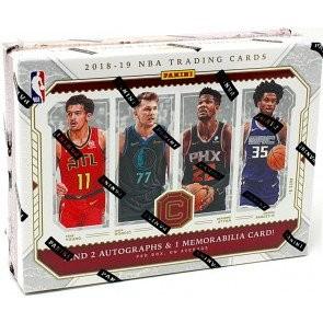 2018/19 Panini Cornerstones Basketball Hobby 12 Box Case