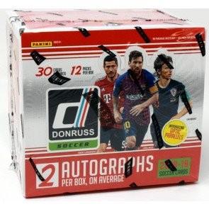 2018/19 Panini Donruss Soccer Hobby 12 Box Case
