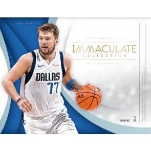 2018/19 Panini Immaculate Basketball Hobby 5 Box Case
