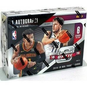 2018/19 Panini Contenders Optic Basketball Hobby 20 Box Case