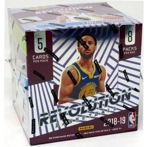 2018/19 Panini Revolution Basketball Hobby 16 Box Case
