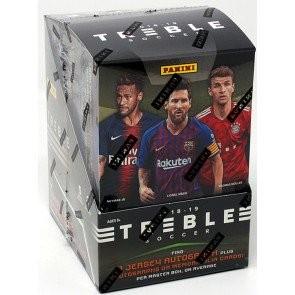 2018/19 Panini Treble Soccer Hobby 10 Box Case
