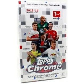 2018/19 Topps Chrome Bundesliga Soccer Hobby 12 Box Case