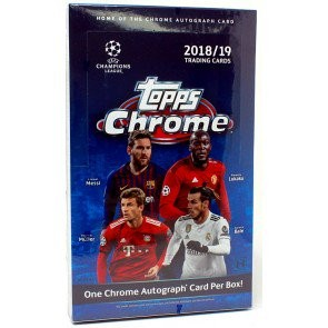 2018/19 Topps UEFA Champions League Chrome Soccer 12 Box Case