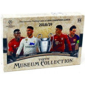2018/19 Topps UEFA Champions League Museum Collection Soccer Box