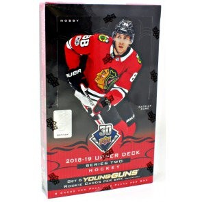 2018/19 Upper Deck Series 2 Hockey Hobby 12 Box Case