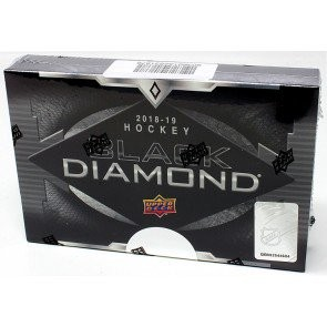 2018/19 Upper Deck Black Diamond Hockey Hobby 5 Box Case