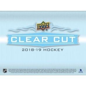 2018/19 Upper Deck Clear Cut Hockey Hobby 15 Box Case