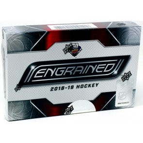 2018/19 Upper Deck Engrained Hockey Hobby 10 Box Case