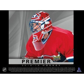 2018/19 Upper Deck Premier Hockey Hobby 5 Box Case