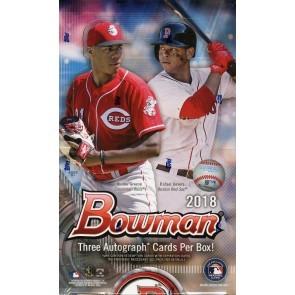 2018 Bowman Baseball Jumbo HTA 8 Box Case