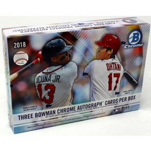 2018 Bowman Chrome Baseball HTA Choice 12 Box Case