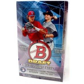 2018 Bowman Draft Baseball Super Jumbo Box