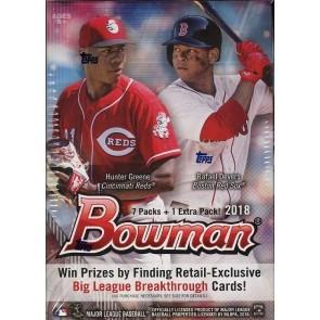 2018 Bowman Baseball Blaster 16 Box Case