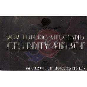 2018 Historic Autographs Celebrity Vintage Box