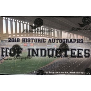 2018 Historic Autographs Hall Of Fame Inductees Box